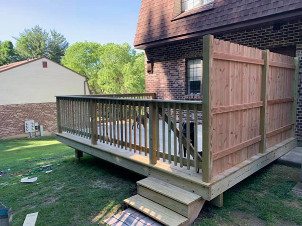 Raised Deck Installation